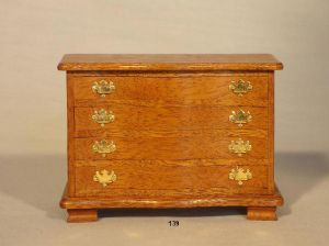 139. Chippendale Serpentine Chest